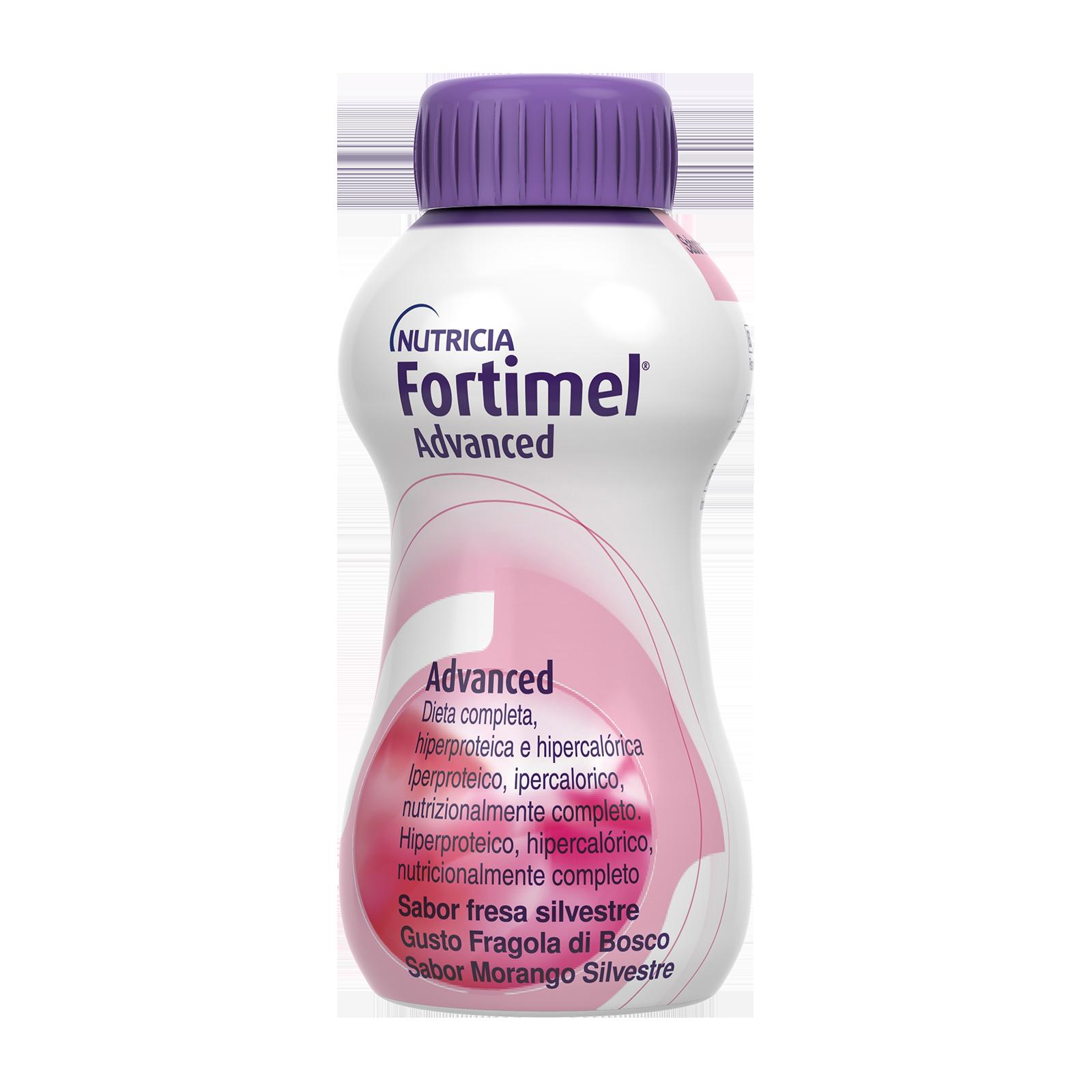 Integratori alimentari - Fortimel Advanced Fragola di bosco 24 bottigliette, Fortimel