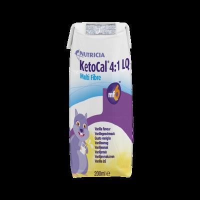 Ketocal 4:1 LQ Multi Fibre Vaniglia 1 scatola