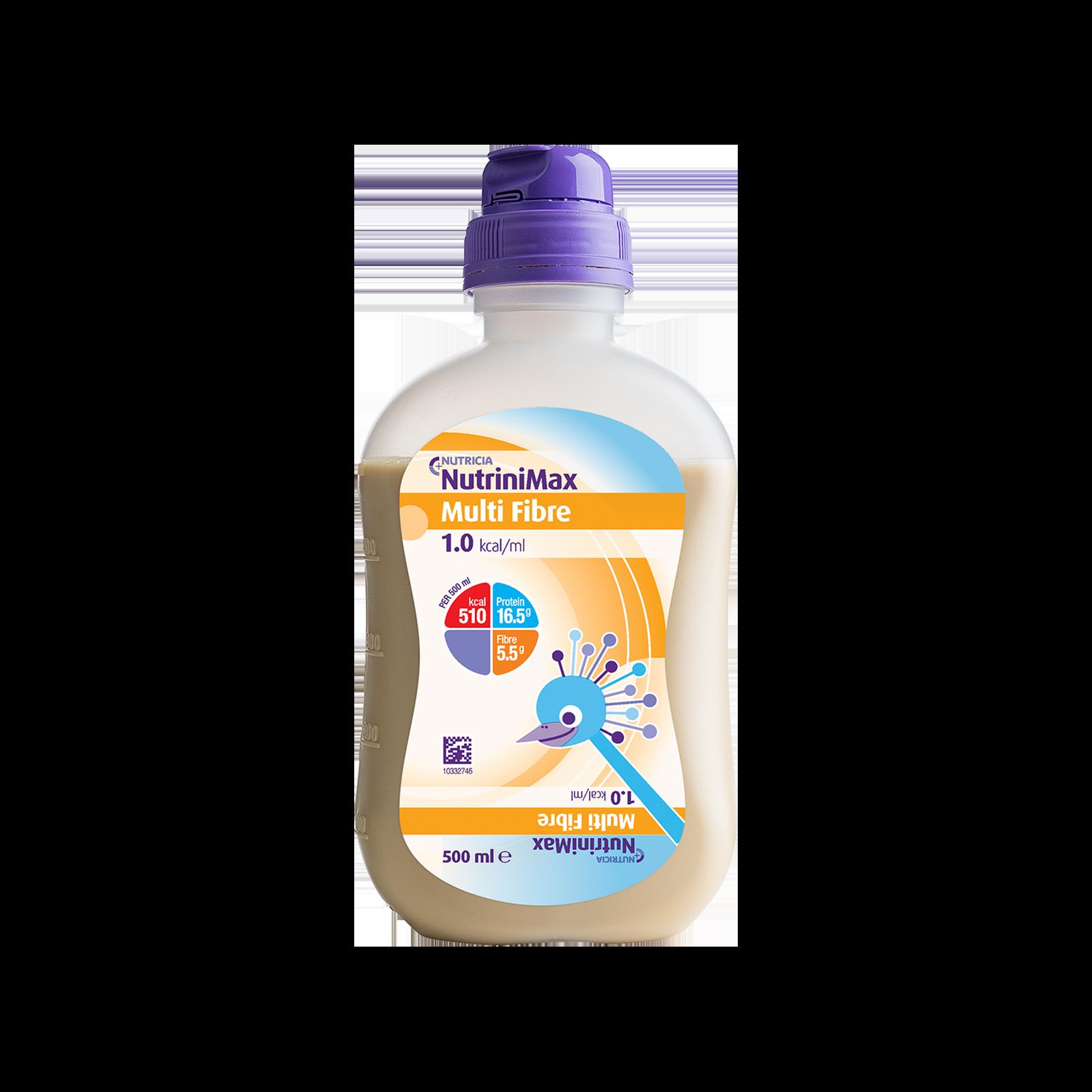 NutriniMax Multi Fibre Bottiglia Collassabile da 500 ml | Nutricia