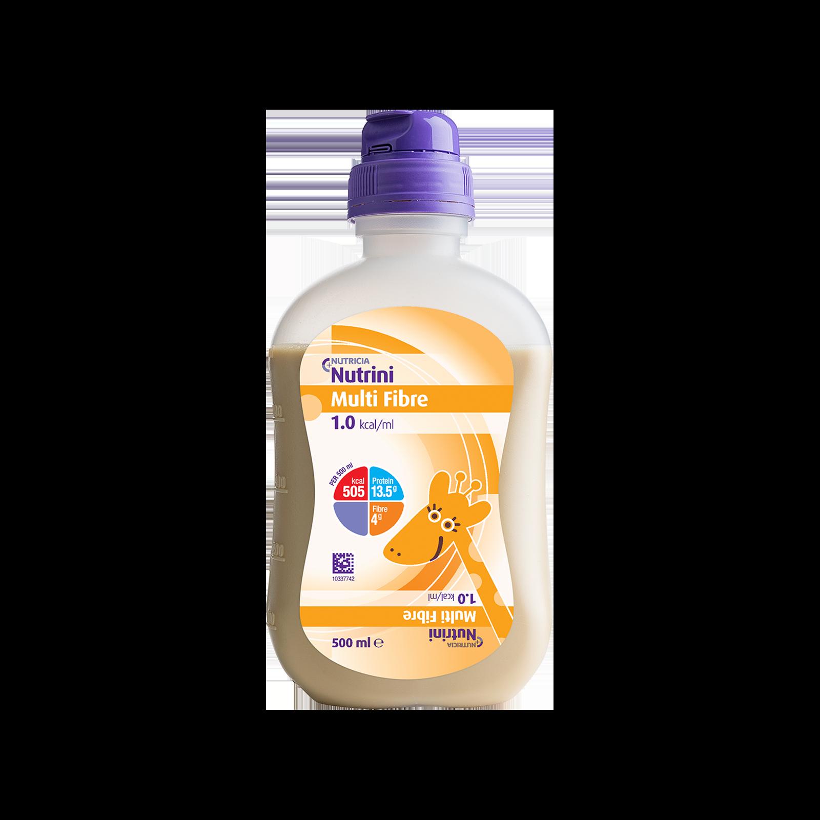 Nutrini Multi Fibre Bottiglia Collassabile da 500 ml | Nutricia
