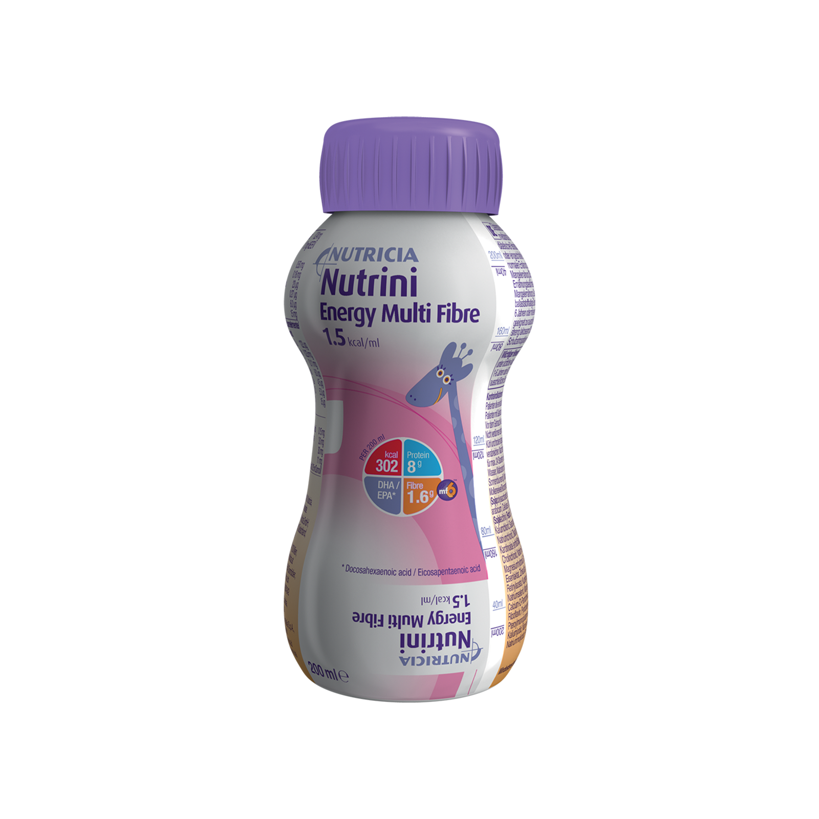 Nutrini Energy Multi Fibre Bottiglia Collassabile da 500 ml | Nutricia