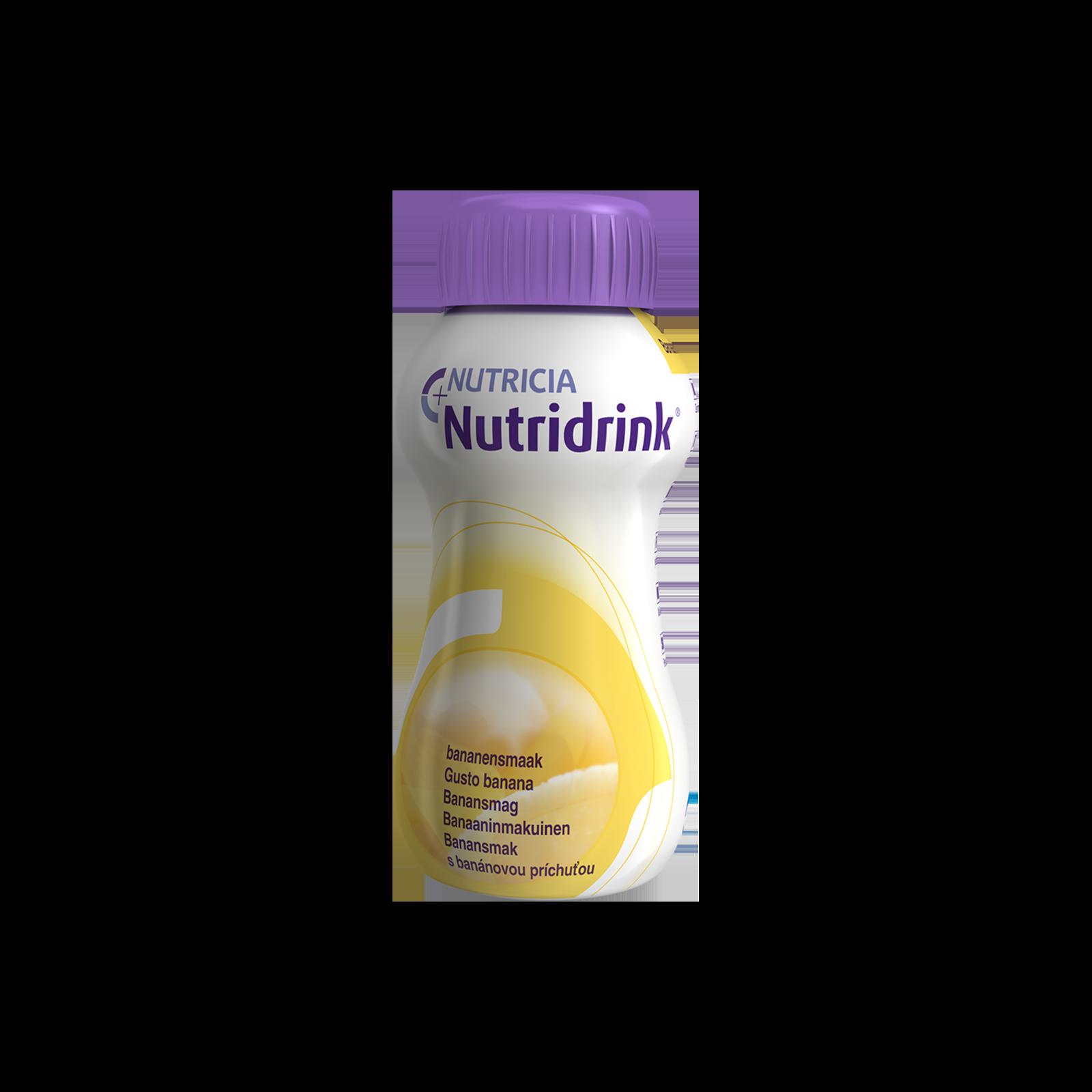Nutridrink Banana 4x Confezione 200 ml | Nutricia