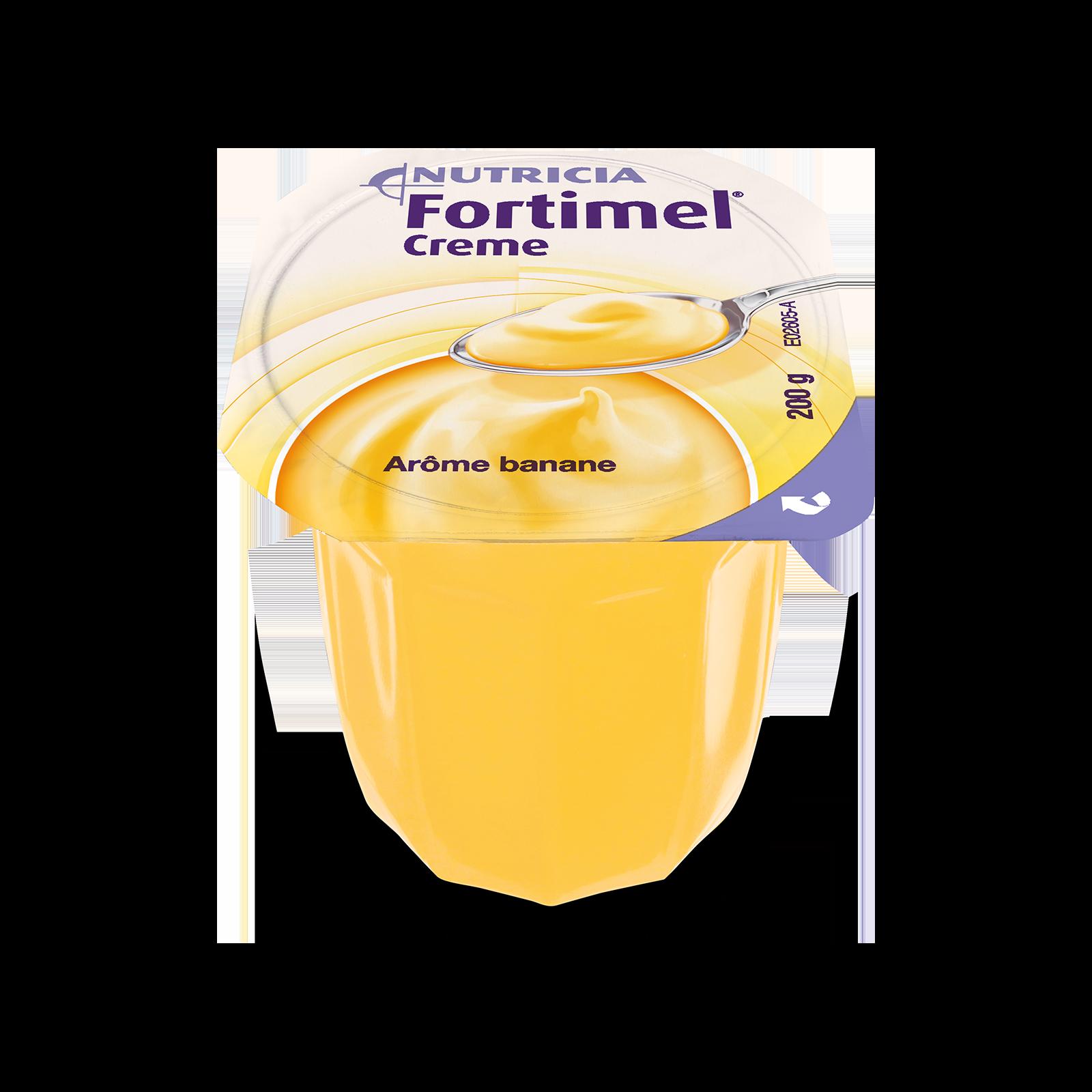 Fortimel Creme banana 4x Vasetto 125 g | Nutricia