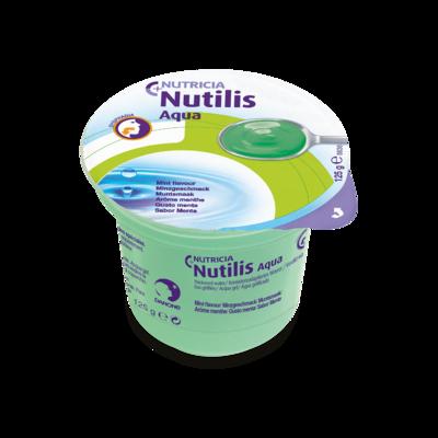 Nutilis Aqua gel Menta 12 vasetti