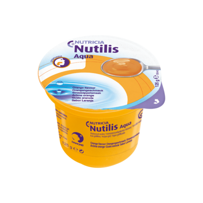 Nutilis Aqua gel Arancia 12 vasetti