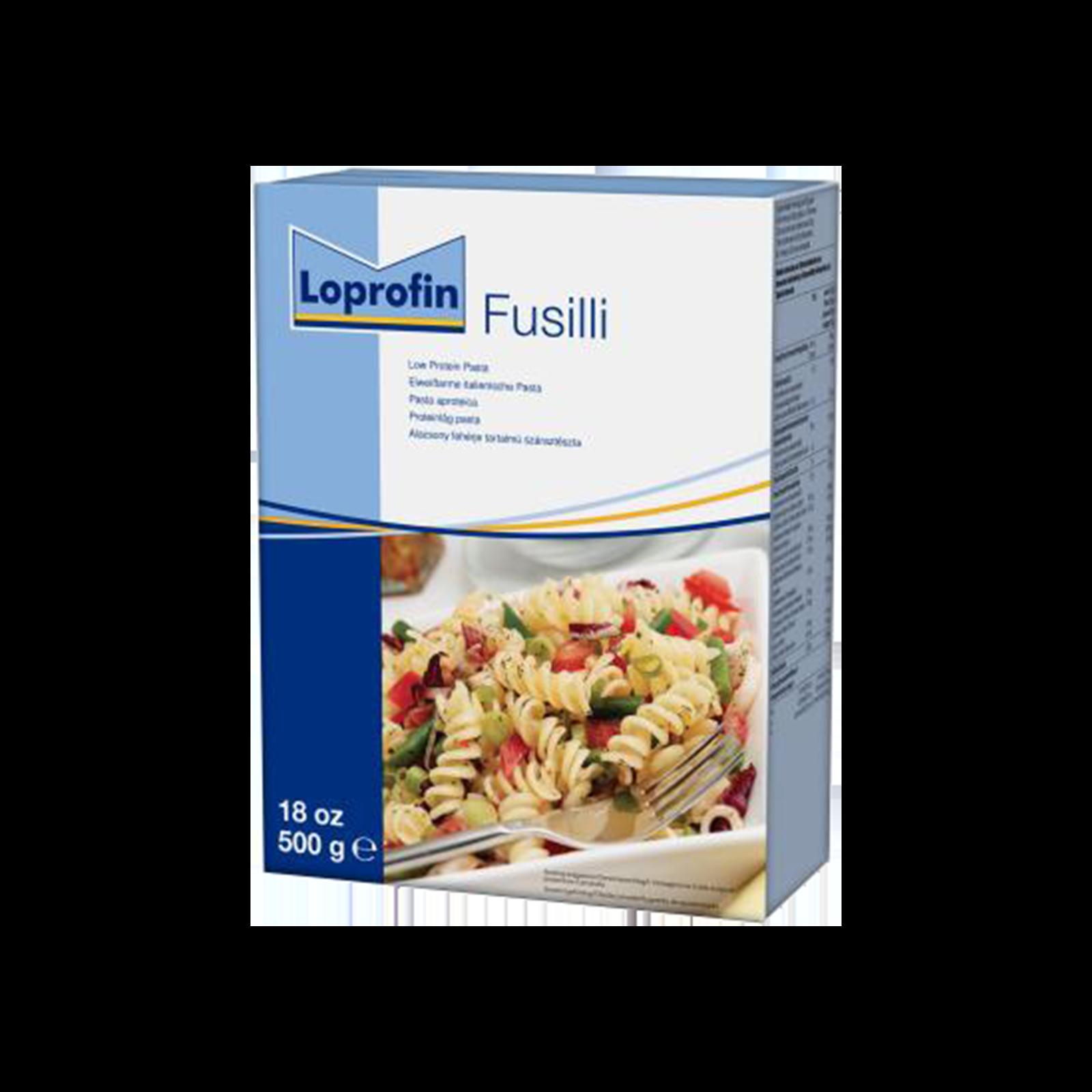 Loprofin Pasta Fusilli scatola da 500g | Nutricia