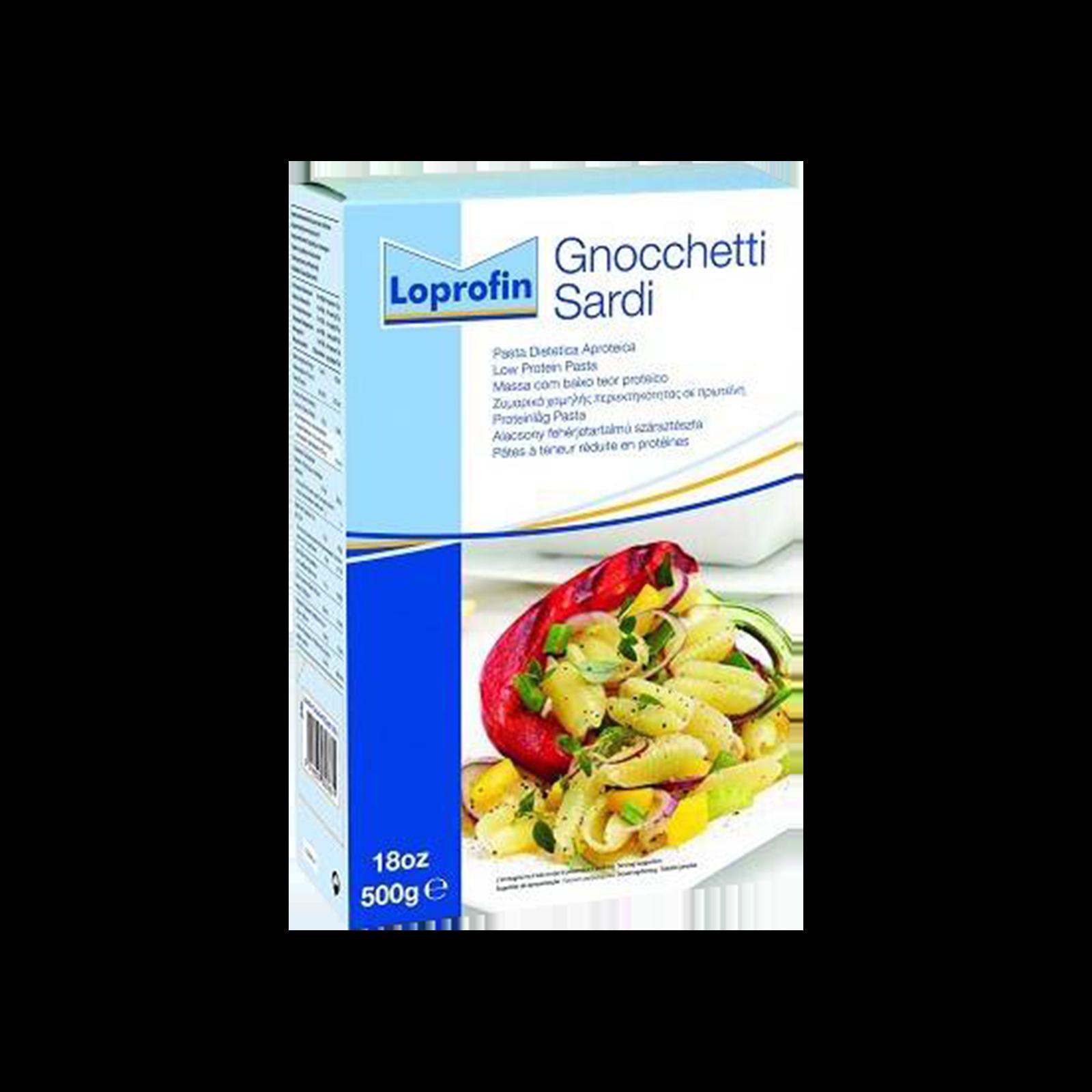 Loprofin Pasta Gnocchetti Sardi scatola da 500g | Nutricia
