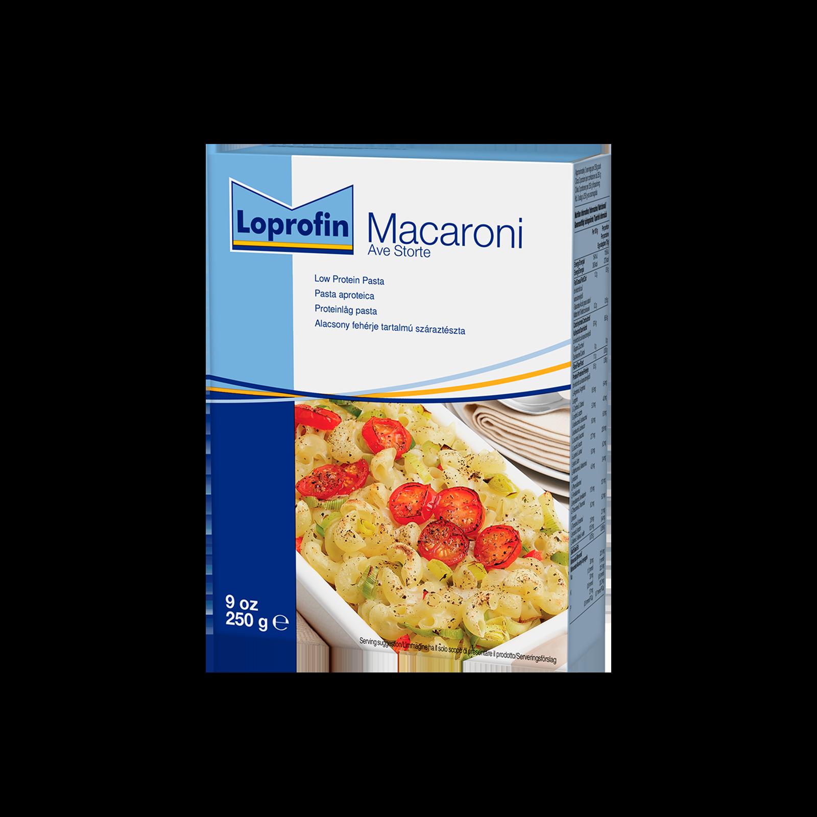 Loprofin Pasta Ave Storte scatola da 250g   Nutricia