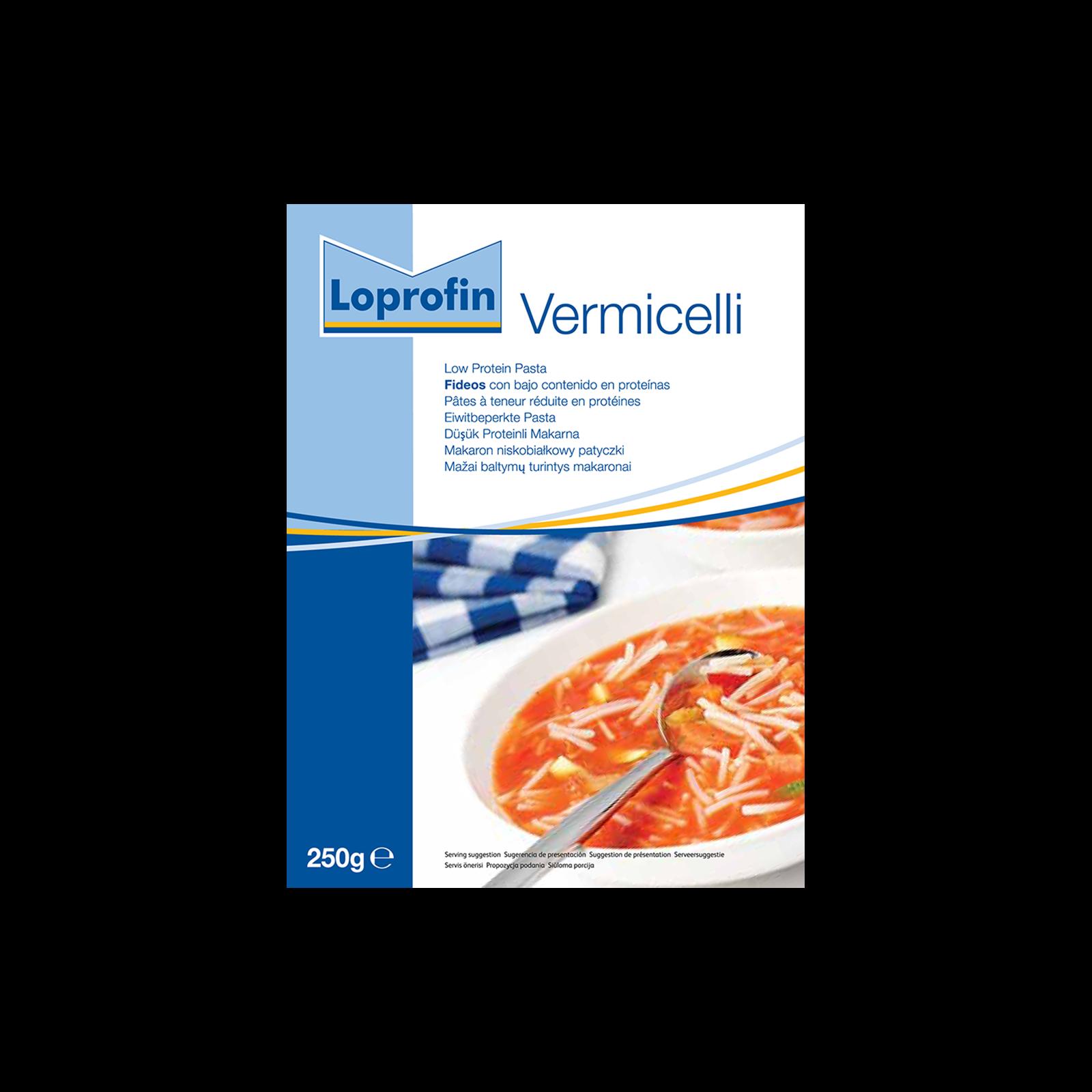 Loprofin Pasta Vermicelli scatola da 250g | Nutricia
