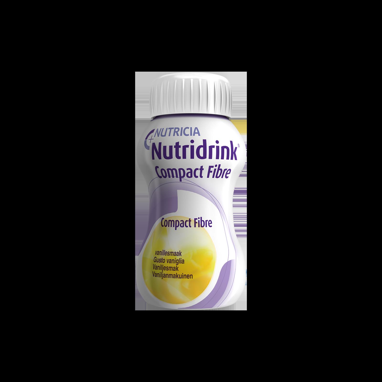 Nutridrink Compact Fibre vaniglia 24x Bottiglia 125 ml | Nutricia
