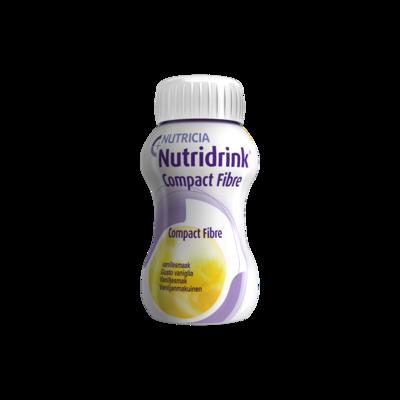 Nutridrink Compact Fibre vaniglia 4 BOTTIGLIETTE