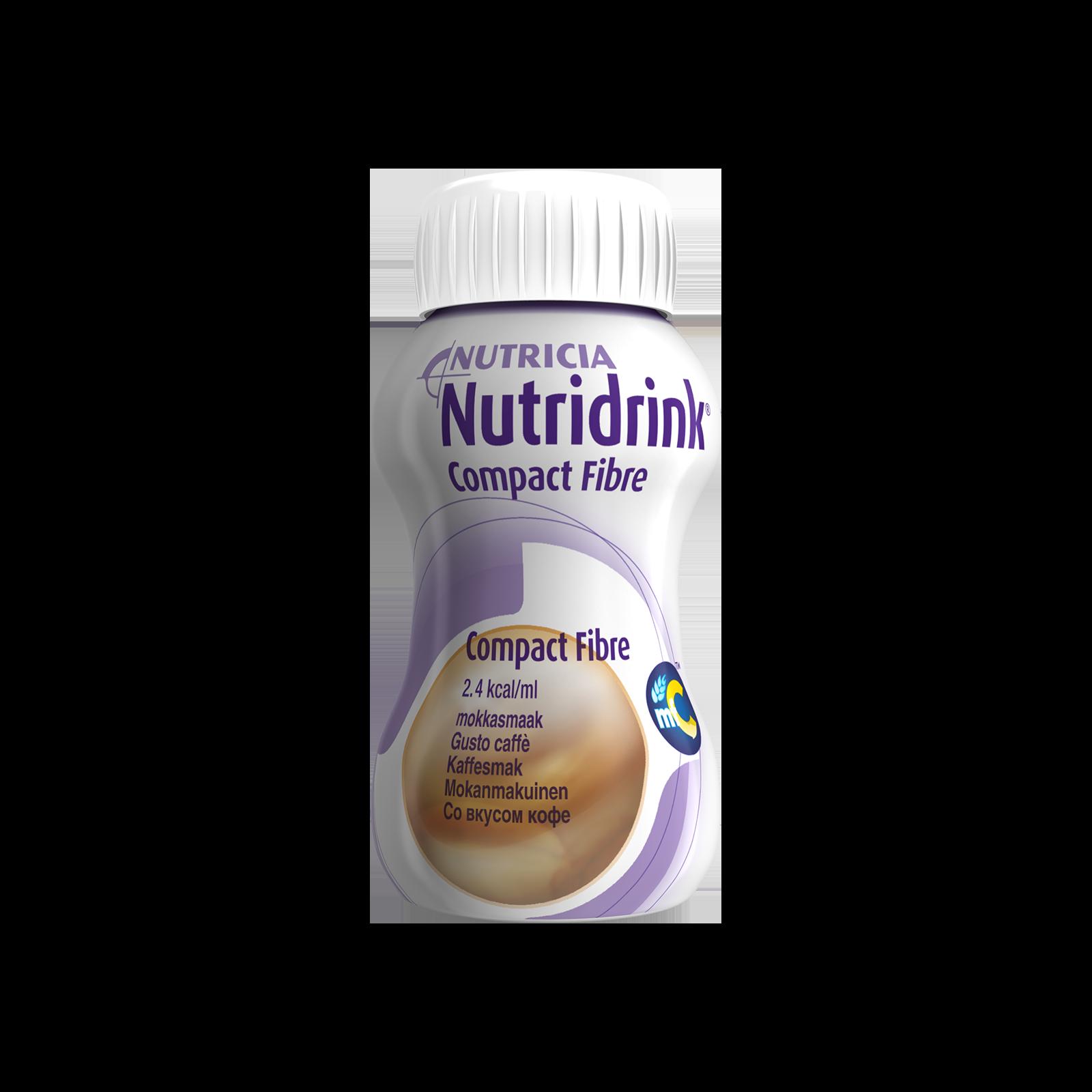 Nutridrink Compact Fibre caffè 4x Bottiglia 125 ml | Nutricia