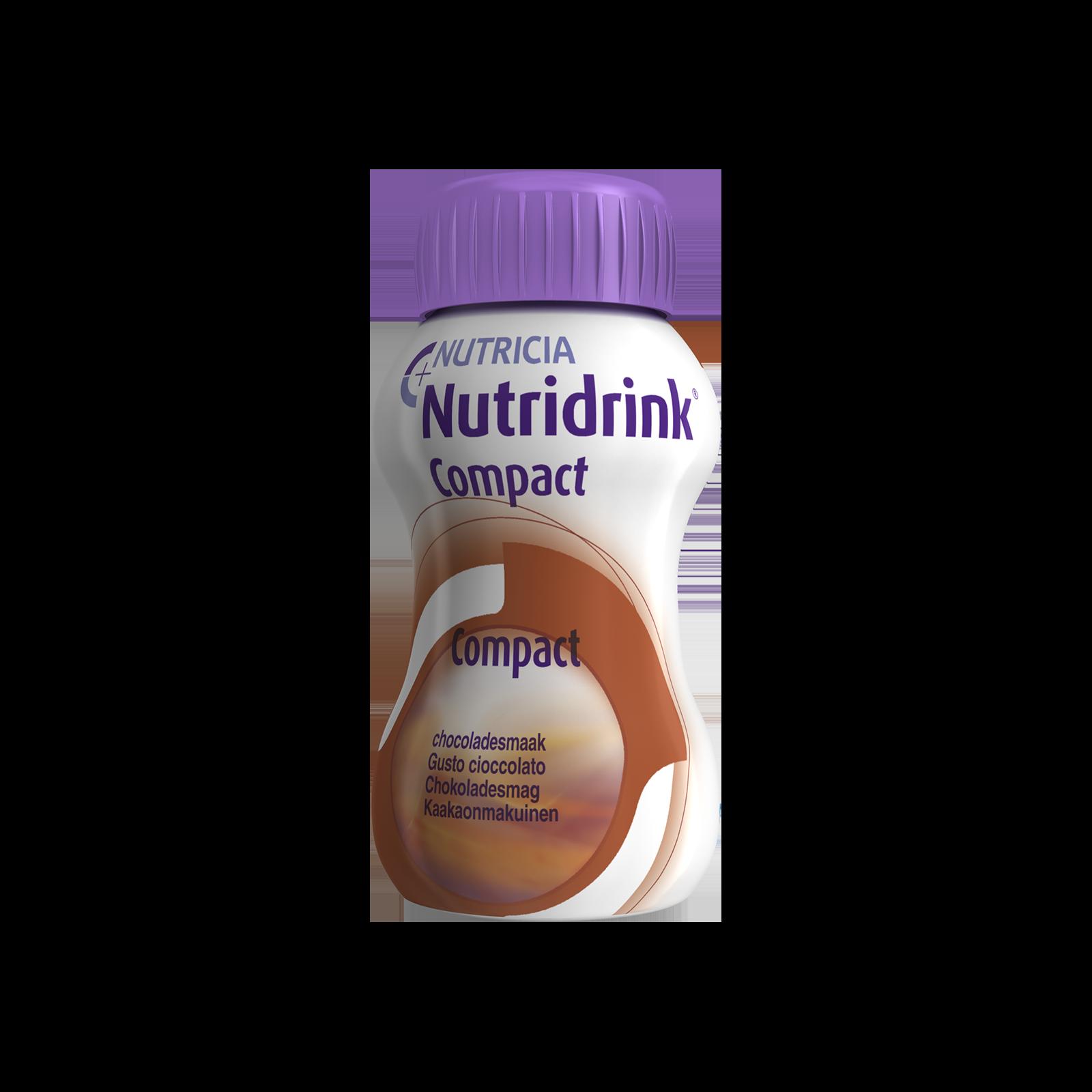 Nutridrink Compact cioccolato 48x Bottiglia 125 ml | Nutricia