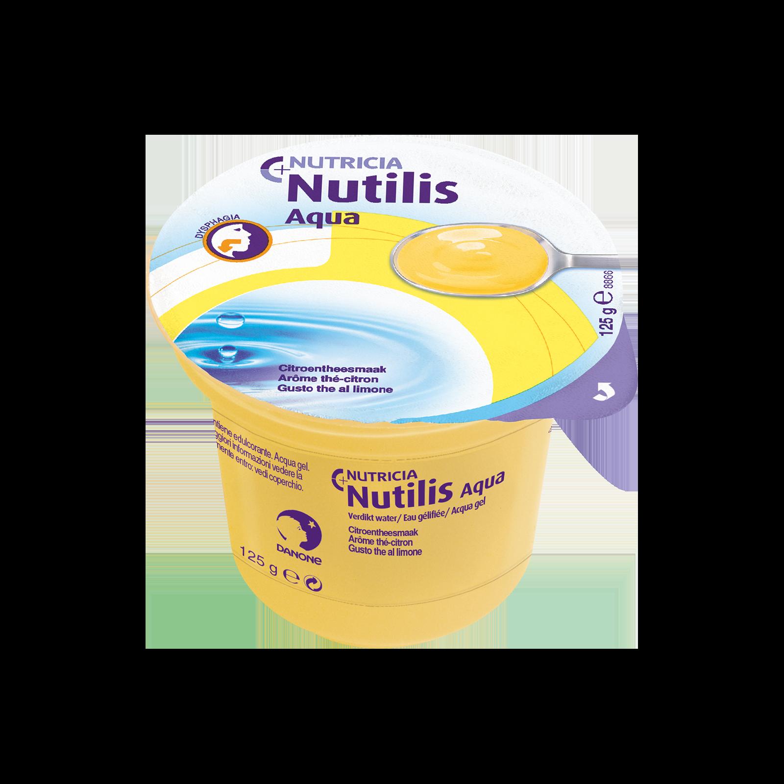 Nutilis Aqua gel The al limone 60x Vasetto 125 g | Nutricia