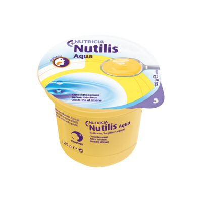 Nutilis Aqua gel The al limone 12 vasetti