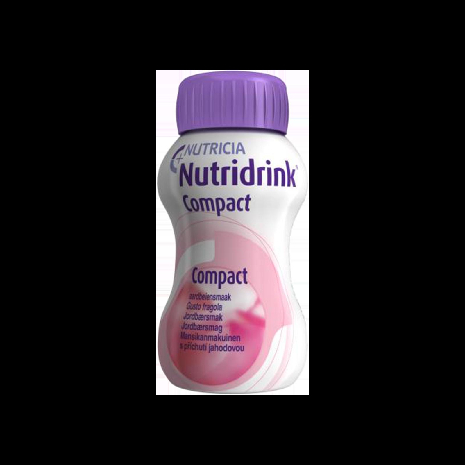 Nutridrink Compact fragola 4x Bottiglia 125 ml | Nutricia