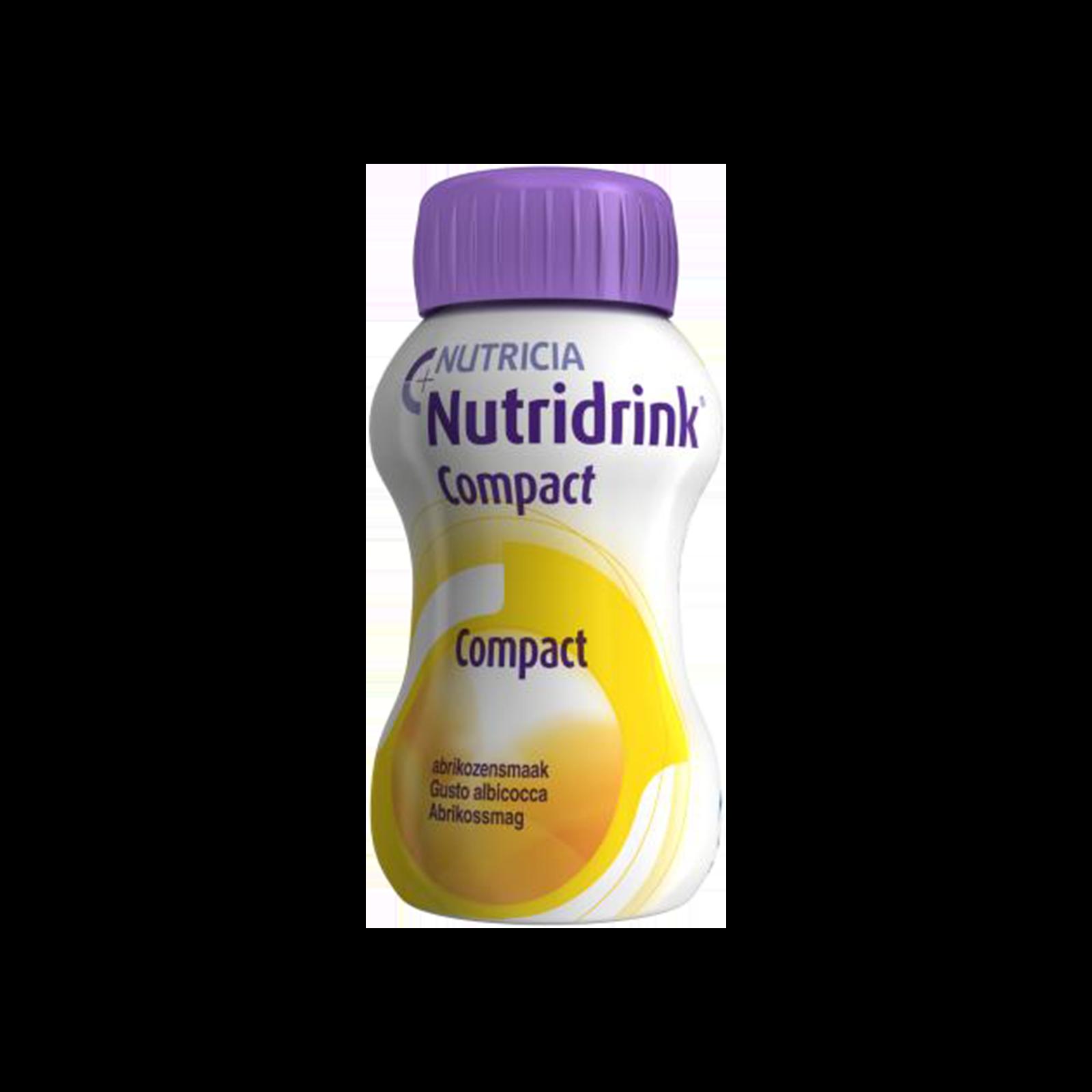 Nutridrink Compact albicocca 24x Bottiglia 125 ml | Nutricia