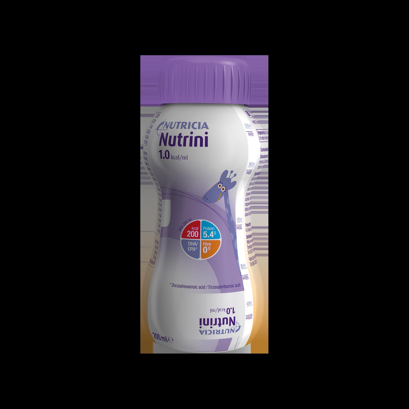 Nutrini 12 Bottiglie di plastica da 200 ml | Nutricia