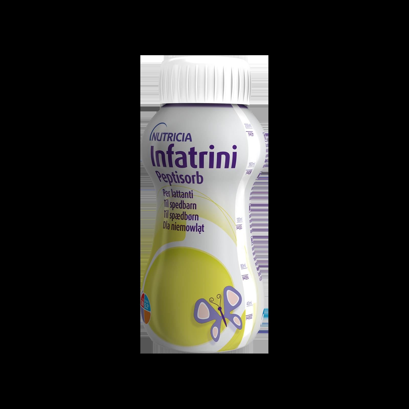 Infatrini Peptisorb 4x Bottiglietta 200 ml | Nutricia
