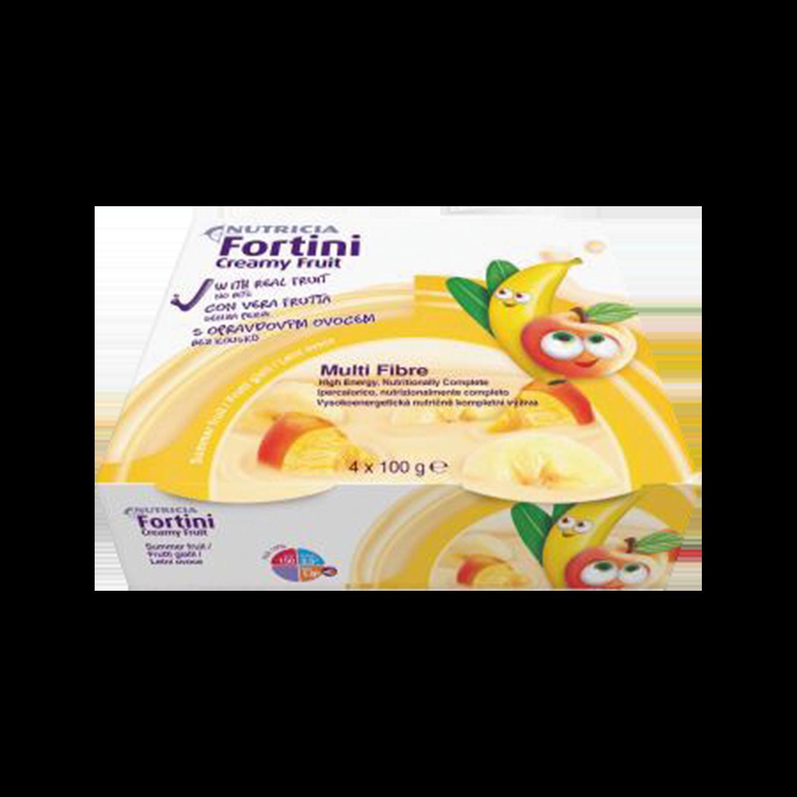 Fortini creamy multifibre frutti gialli 48x Confezione 200 ml | Nutricia