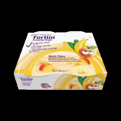 Fortini creamy multifibre frutti gialli 4 coppette