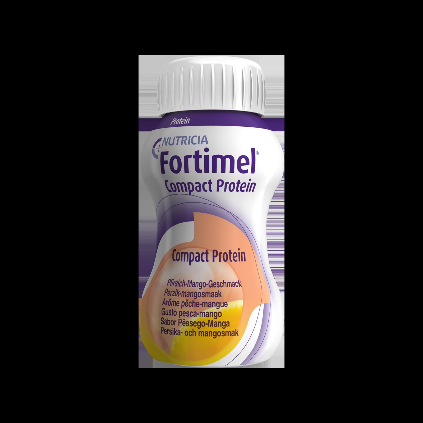Fortimel Compact Pesca e Mango 48x Confezione 125 ml | Nutricia