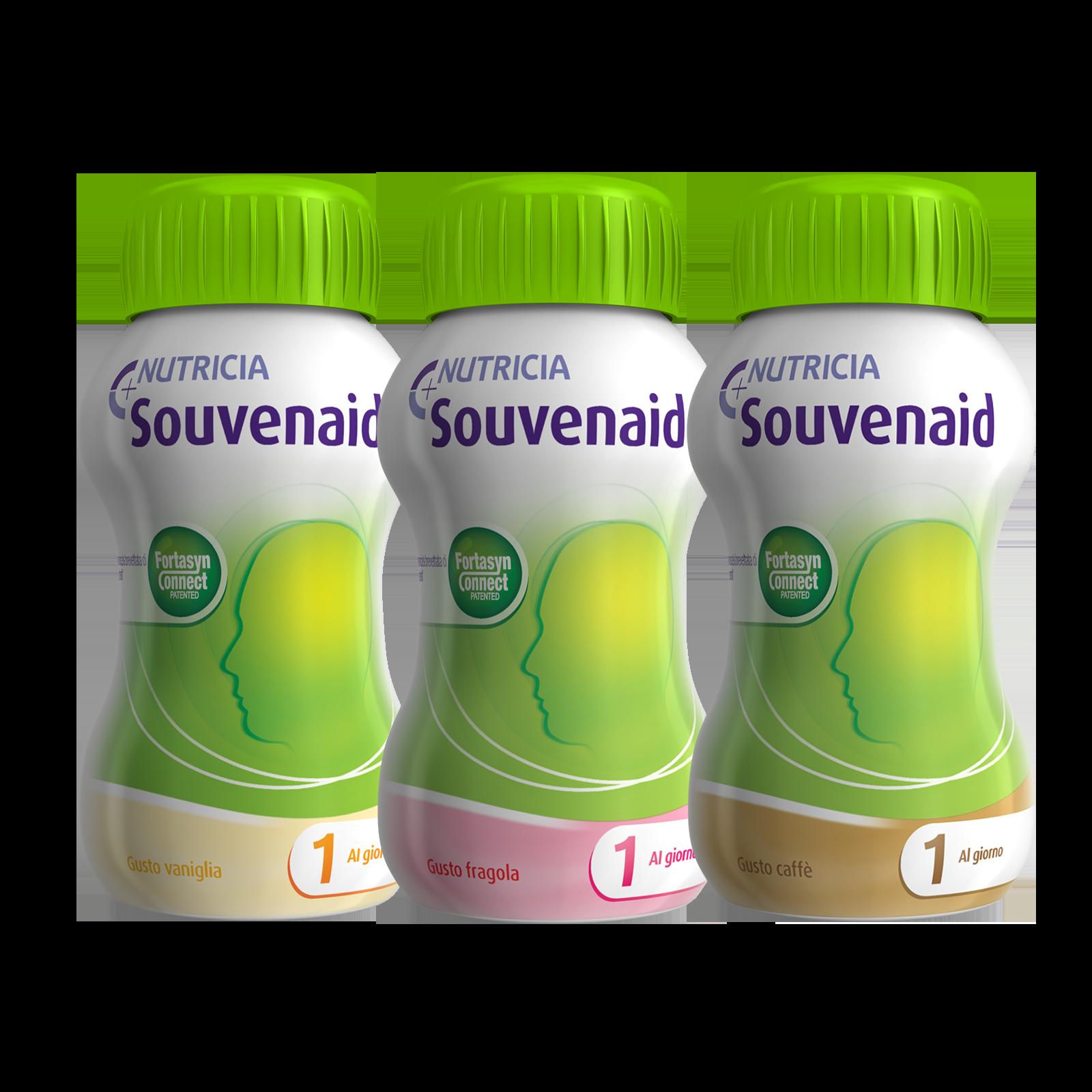 Souvenaid Fragola, Vaniglia, Caffè 12x Confezione 125 ml | Nutricia