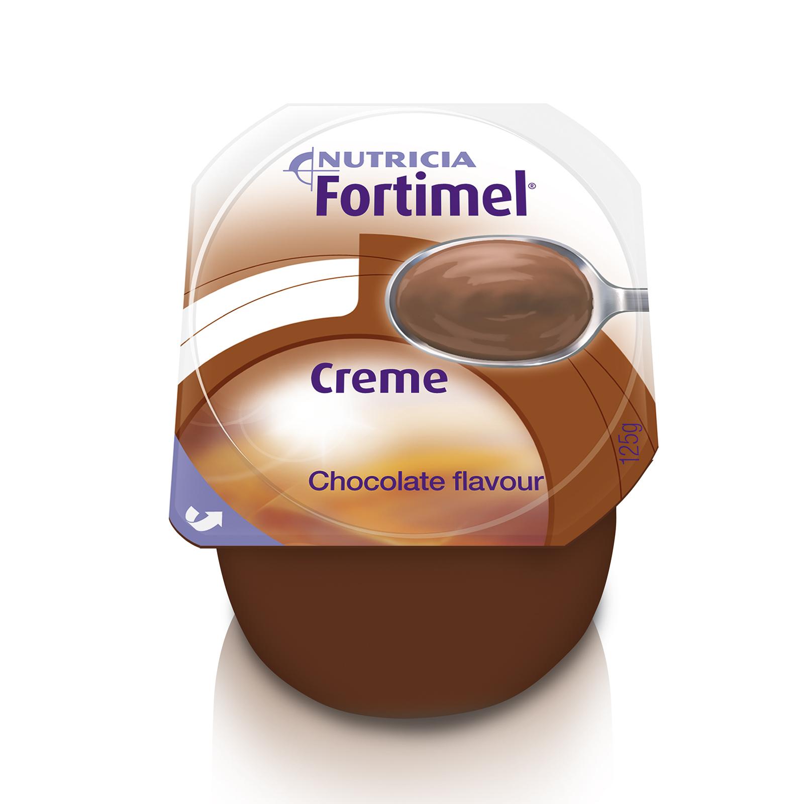 Fortimel Creme cioccolato 4x Vasetto 125 g | Nutricia