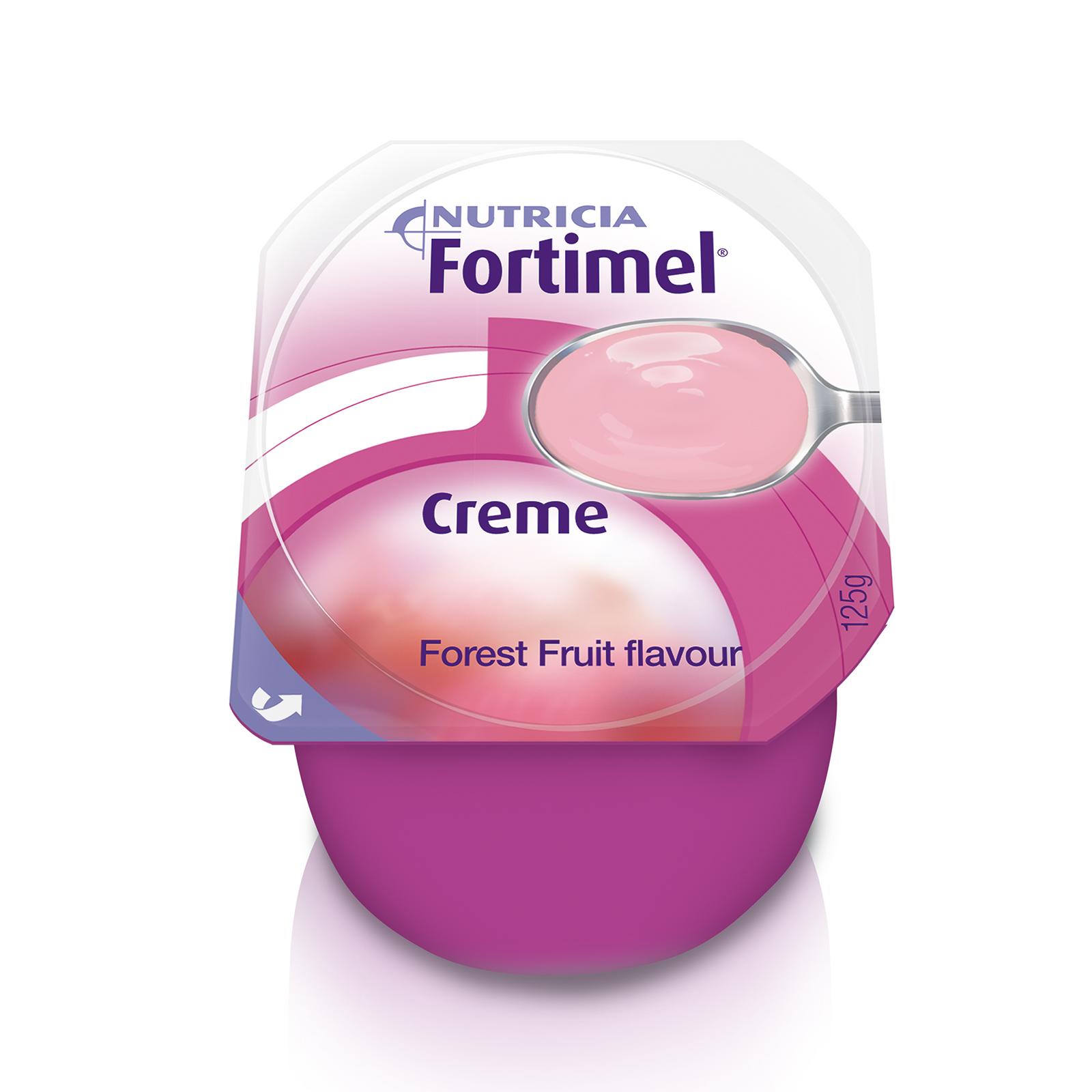 Fortimel Creme Frutti di Bosco 4x Vasetto 125 g | Nutricia