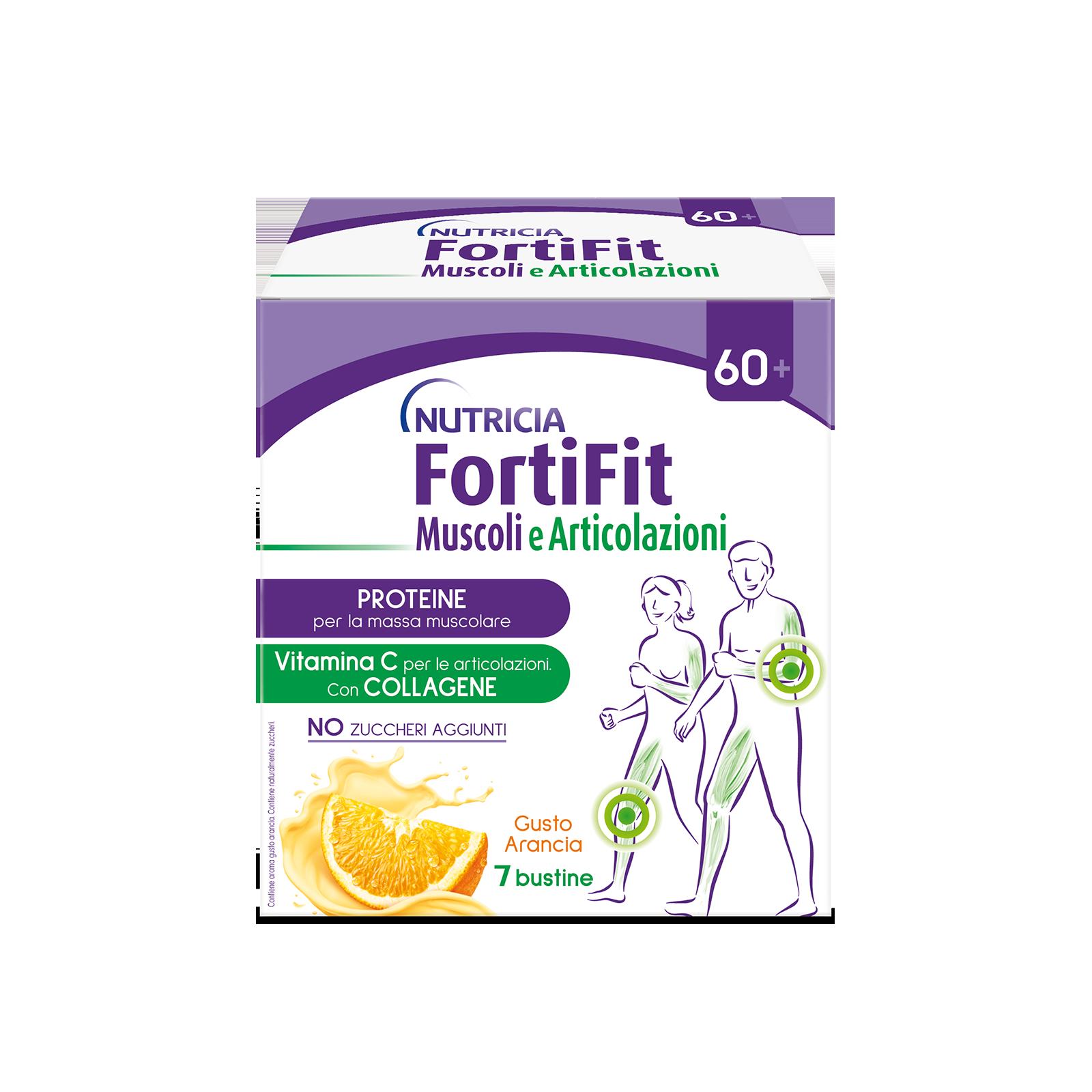 Fortifit Muscoli e articolazioni 4 astucci da 7 bustine | Nutricia