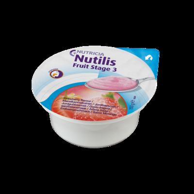 Nutilis Fruit Fragola 3 Vasetti