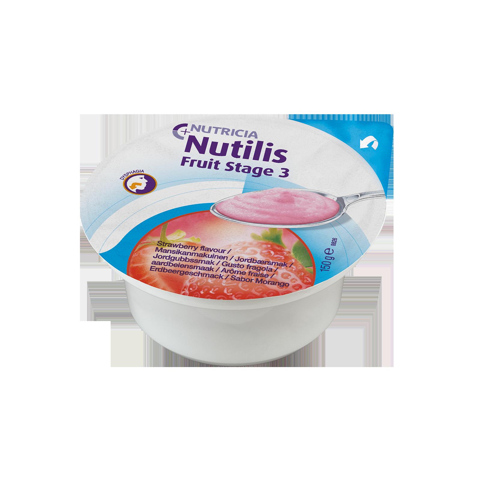 Nutilis Fruit Fragola 36x Vasetto 150 g | Nutricia