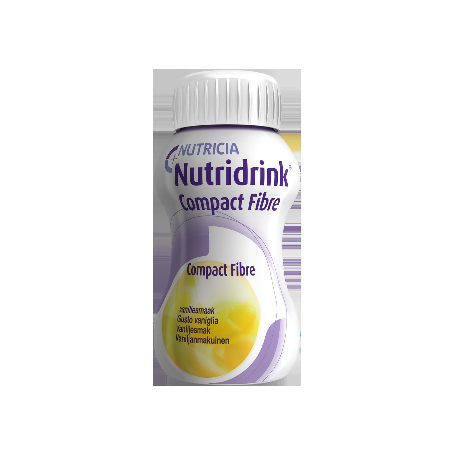 Nutridrink Compact Fibre vaniglia 48x Bottiglia 125 ml | Nutricia