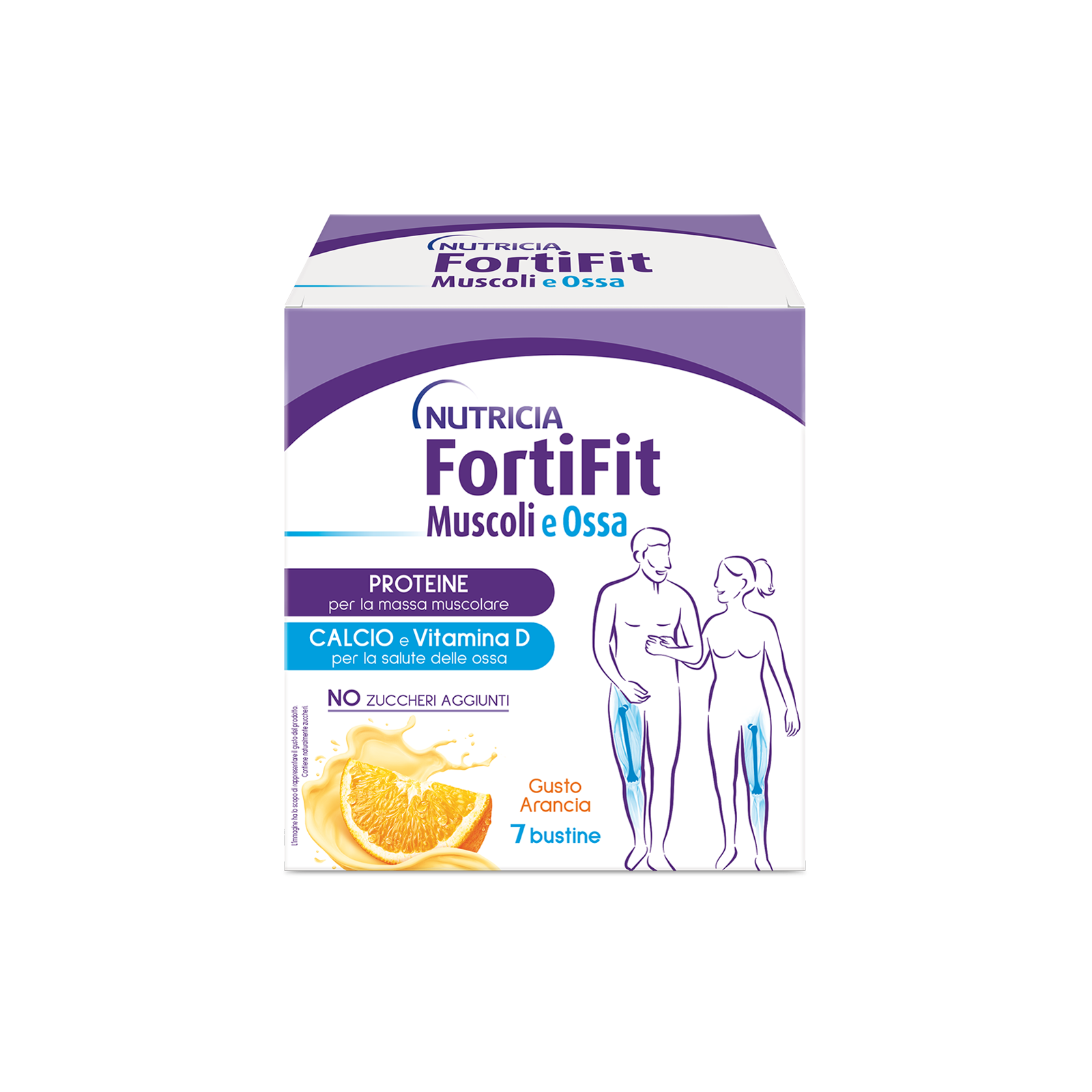 Integratori alimentari - FortiFit Muscoli e Ossa Arancia 4 ASTUCCI  , FORTIFIT