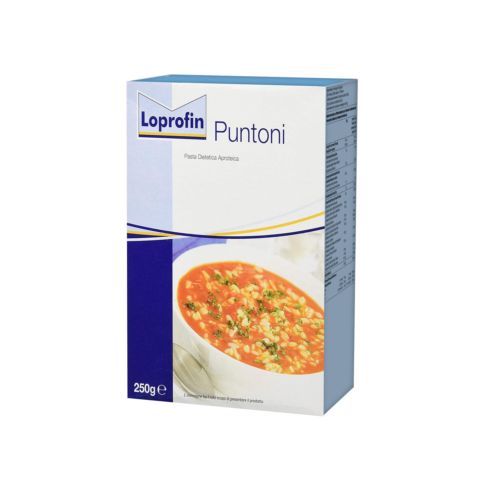 Loprofin Pasta Puntoni scatola da 250g   Nutricia